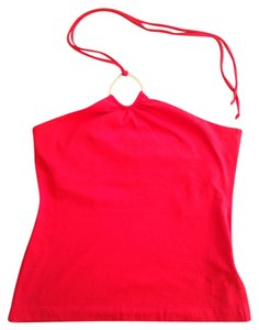Banana Republic Red Halter Top