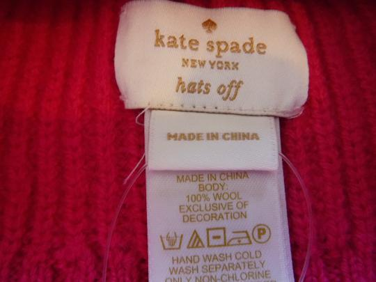 Kate Spade Kate Spade Pink Hat With Black Bow Image 2