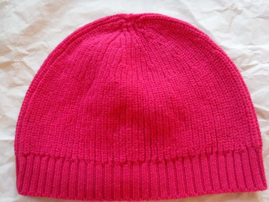 Kate Spade Kate Spade Pink Hat With Black Bow Image 3