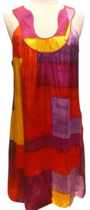Laundry by Shelli Segal short dress multi Vibrant Tunic on Tradesy