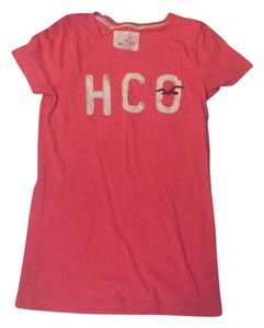 Hollister T Shirt Salmon