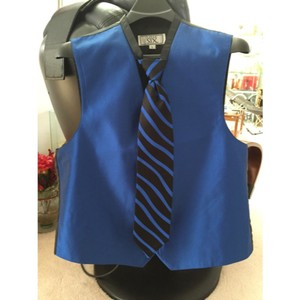 After Six After Six Royal Blue Fullback Tuxedo Vest