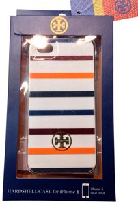 Tory Burch Tory Burch iPhone 5 Multicolor Stripe Case