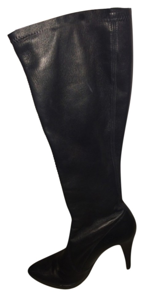 Women's Stuart quality Weitzman Black Leather Boots/Booties quality Stuart Queen b6070e