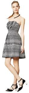 Anthropologie Tinseled Jacquard Eva Franco Dress
