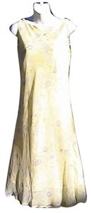 Floral Yellow Maxi Dress by Expressions Summer