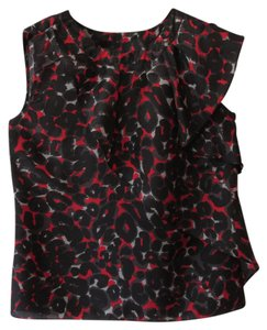 Michael by Michael Kors Top Red/Black/Grey
