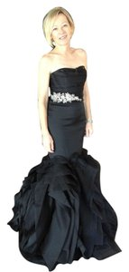 Vera Wang Bridal Mermaid Gown Layered Flanges Ball Gown Wedding Gown Dress