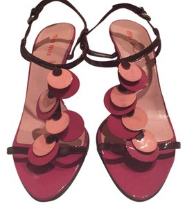 Miu Miu Burgundy, hot pink, baby pink Pumps