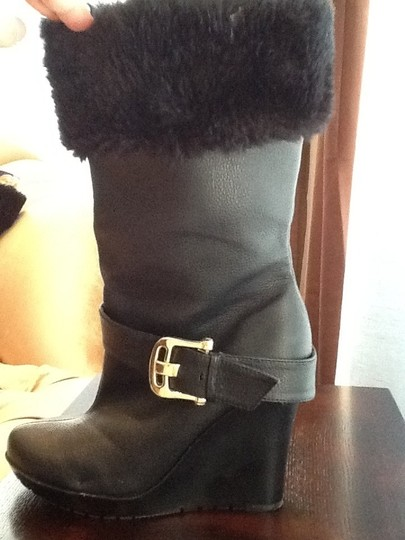 House of Dereon Blk Boots