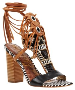 Sam Edelman Black / White Sandals