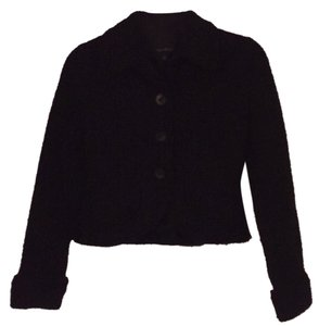 The Limited Black Tweed Blazer