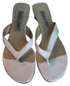 0a3dd2d2d2b White Sam   Libby Sandals - Up to 90% off at Tradesy