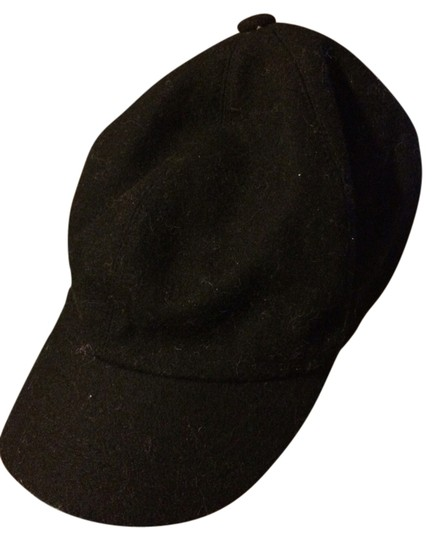 French Connection Black French Connection Newsboy Cap