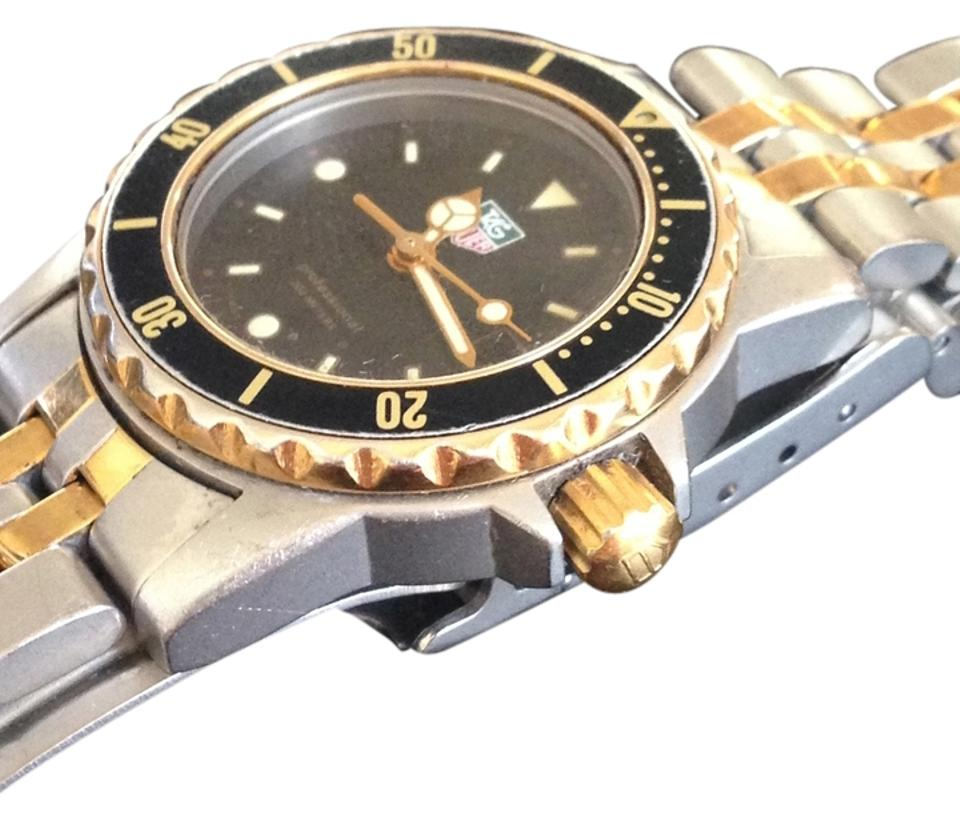 TAG Heuer Two Tone Ladies Womens 1500 2-tone Gold & Steel