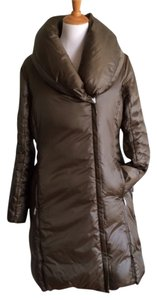 Rainforest Down Puffer Asymmetric Coat