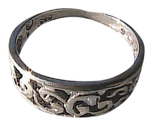Other Sterling Silver Swirl Band Ring (#101)