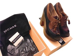 Rochas Prada Multicolored (Black, brown, green) Wedges