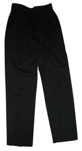 Bill Blass Pleated Trouser Pants BLACK