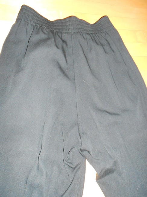 Other Bill Blass Pleated Fitted Size 8 Trouser Pants BLACK