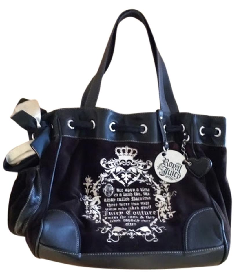 juicy couture fairytale tote black 76 off juicy couture shoulder bags tradesy. Black Bedroom Furniture Sets. Home Design Ideas