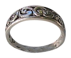 Other Sterling Silver Swirl Band Ring Size 6 (#106)
