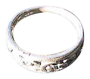 Sterling Silver Swirl Band Ring Size 5 (#105)