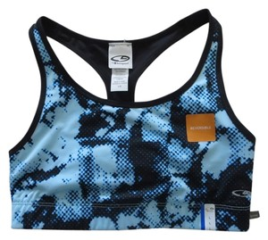 Champion NWT * CHAMPION C9 SPORTS BRA * ADVANCED HIGH PERFORMANCE * POWER CORE COMPRESSION * DUO DRY MAX * REVERSIBLE * BLUE/BLACK AND BLACK * WIDE STRAPS * MEDIUM SUPPORT * RACER BACK * WIRE FREE * SIZE LARGE