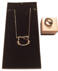 Hello Kitty Necklace & Ring