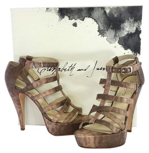 Elizabeth and James Manic Platform Gladiator Sandals