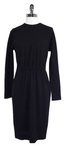 Donna Karan short dress Black Wool Long Sleeve on Tradesy