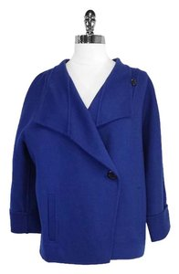Max Mara Royal Blue Wool Blend Jacket