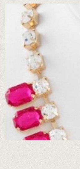 Other Gorgeous Gold tone with pink and clear stones