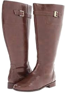 Fitzwell Riding Brown Rustic Boots