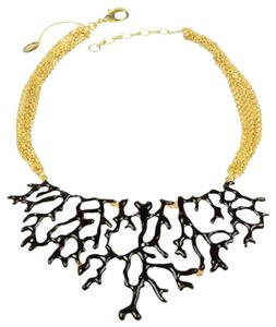 Amrita Singh Amrita Singh Branch Necklace NWT Black/Gold