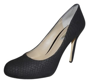 INC International Concepts Platform Leather Snakeskin black Pumps