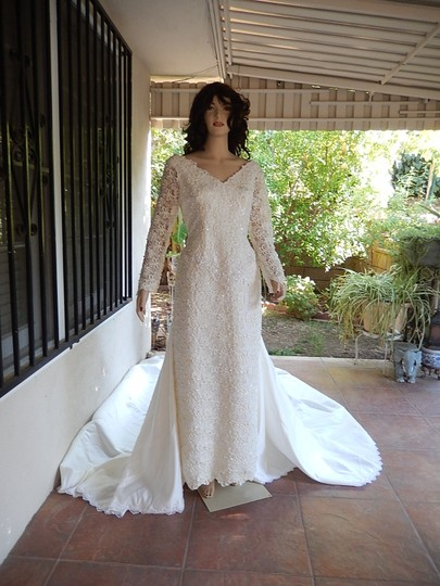 Preload https://item2.tradesy.com/images/ivory-white-satin-and-lace-tags-were-removed-vintage-wedding-dress-size-16-xl-plus-0x-7875811-0-0.jpg?width=440&height=440