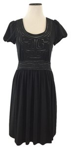 Vivienne Tam short dress Black Mesh on Tradesy
