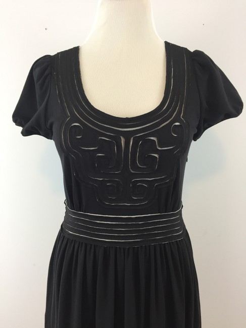 Vivienne Tam short dress Black Jersey Mesh on Tradesy