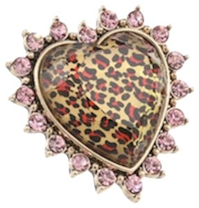 Betsey Johnson Betsey Johnson Leopard stretch ring