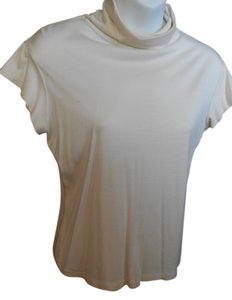Victoria's Secret Moda Ca Sleeve Medium Top CREAM