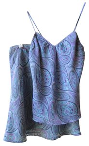 XOXO short dress Purple Paisley Retro Spaghetti Straps Mini Mini Skirt Camisole Funky Disco Throw-back on Tradesy