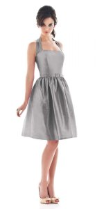 Alfred Sung Grey Other D480 Formal Bridesmaid/Mob Dress Size 4 (S)