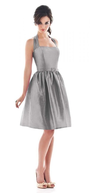 Item - Grey Other D480 Formal Bridesmaid/Mob Dress Size 4 (S)