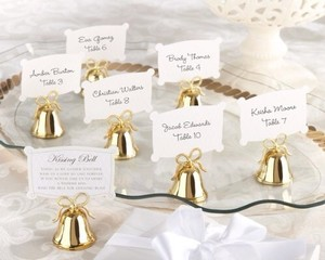 Kate Aspen Kissing Bells / Wedding Place Card Holders