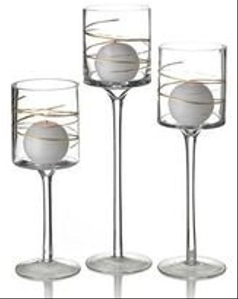 Mikasa hurricane candle centerpieces and table num tradesy