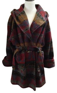 Synergy Group Vintage Wool Wrap Trench Coat