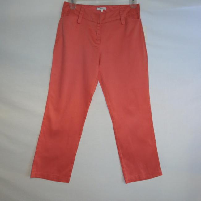 Halogen Capri/Cropped Pants Peach
