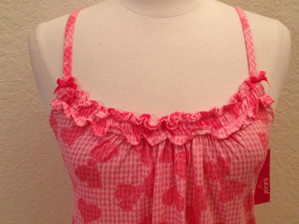 79f1709f99b0c jenni by jennifer moore Pink Gown M Or Blue Chemise Activewear Sports Bra.  Size  6 (S ...