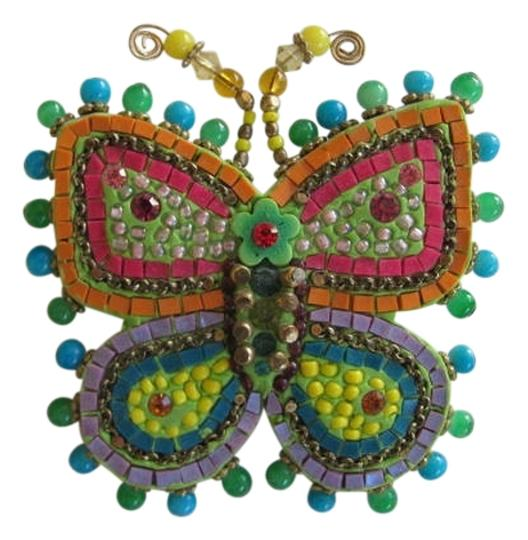 Preload https://item1.tradesy.com/images/blue-orange-yellow-red-butterfly-stick-pin-788820-0-0.jpg?width=440&height=440